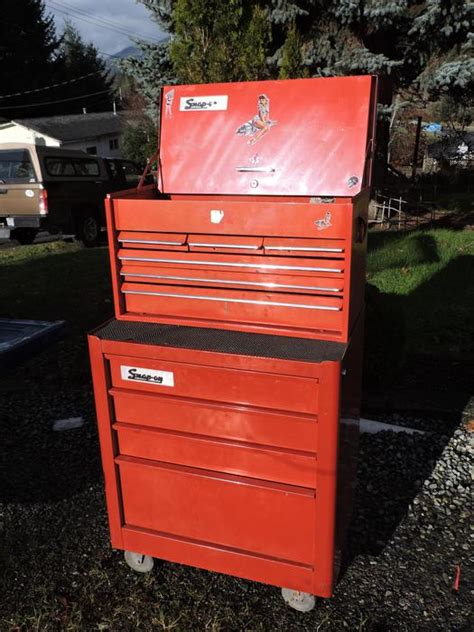 snap on tool box and rolling cabinet lake cowichan cowichan