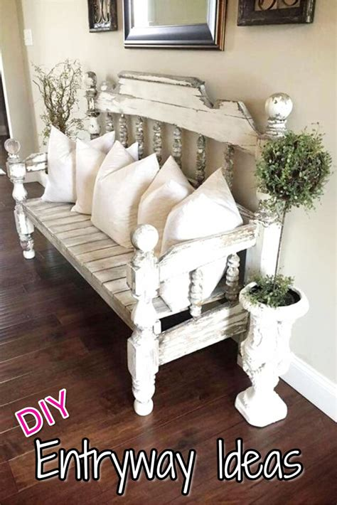 decorating with benches diy entryway ideas for small foyers and apartment