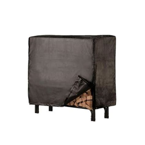 Log Rack Covers Home Depot shelter deluxe small log rack cover slrcd s the home depot