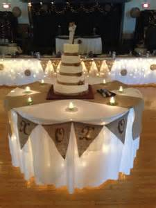 Burlap Wedding Table Decorations by Burlap Wedding Cake Cake Ideas Wedding