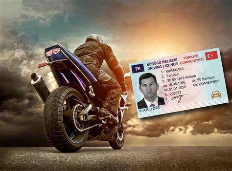 ehliyet yenileme icin gerekli belgeler  motosiklet