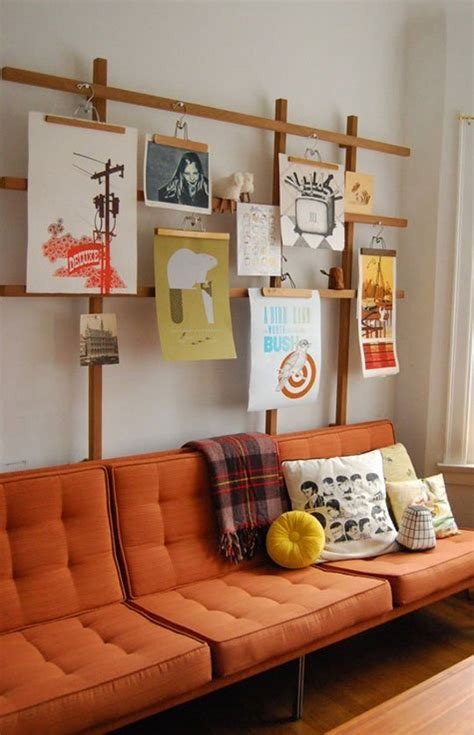 hanging pictures without nails ideas for hanging artwork without leaving holes in the