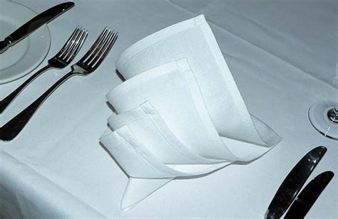 Decorative Napkin Folding For Beginners by Six Easy Napkin Folds For Your Dinner Table Fabulous