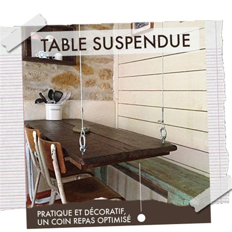 Table Suspendue Au Plafond by Table Suspendue