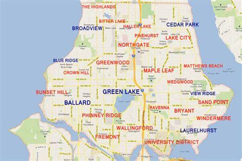 seattle neighbourhoods map seattle real estate homes for sale in seattle wa