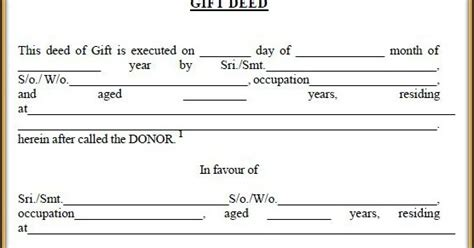 deed of gift template australia web whether test of suspicious circumstances can be