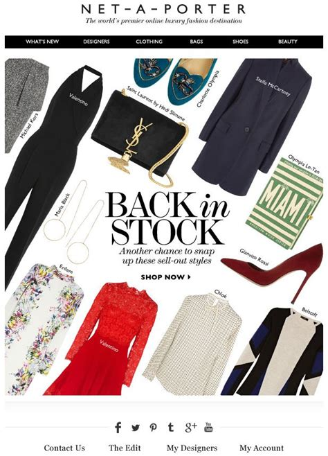 Explore Net A Porter by Net A Porter Email Design Luxury Emails