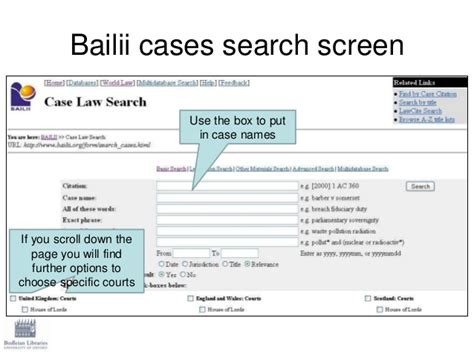 Bailii Search Finding