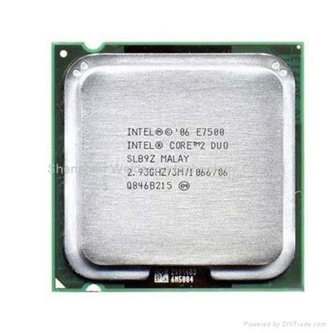 intel 2 duo e7500 2 93ghz l2 3mb cache processor oem china manufacturer cpu