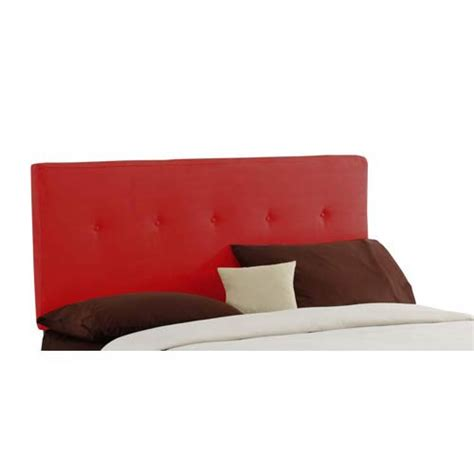 red headboard queen red upholstered headboard bellacor