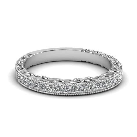 White Gold And Diamond Wedding Bands