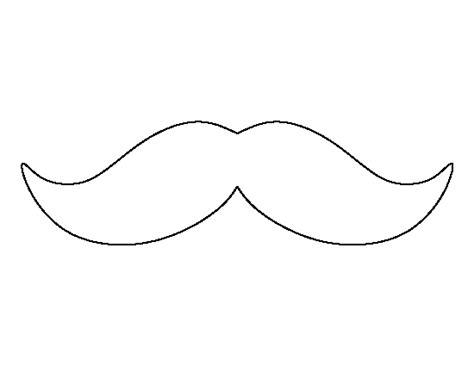 mustach template pin by muse printables on printable patterns at