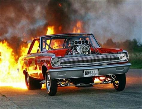 blown mopar fiery burnout hot rods cars muscle