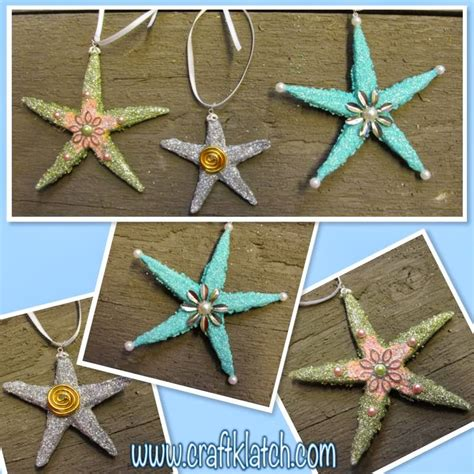 craft klatch 174 beachy starfish christmas ornaments