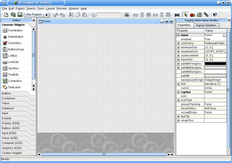 qt designer layout horizontally in splitter qt designer and kdevelop 3 0 for beginners trinity
