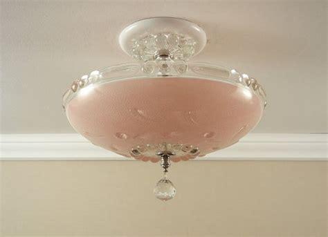 Vintage Bedroom Lighting Fixtures Pressed Glass Hallway Ceiling Lights And Ceiling Light