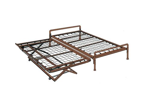 twin trundle bed frame twin bed with pop up trundle frame spillo caves