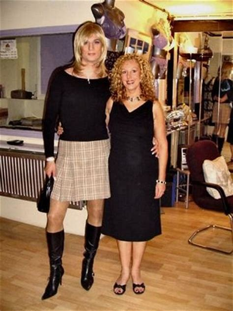 going to salon crossdressed 261 best images about couples with tgirl on pinterest