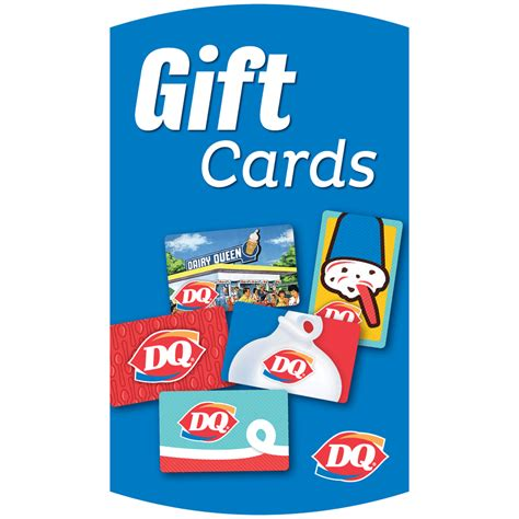 Dairy Queen E Gift Card - gift cards exterior poster exterior posters