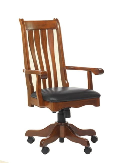 ohio state leather office chair hton desk chair ohio hardword upholstered furniture