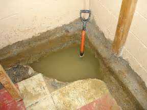 Waterproofing Basement Walls From Inside Ace Foundation Repair Beware Of The Quot Inside Quot Job