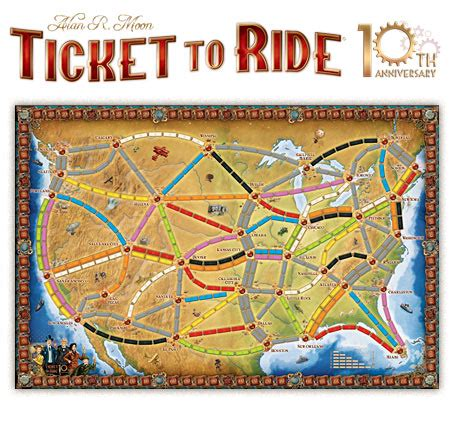 Ticket To Ride Germany Original Board ticket to ride turns 10 years let s celebrate 171 days