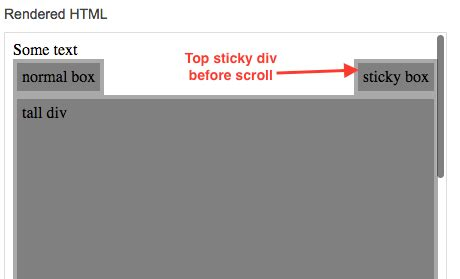 jquery div scroll jsfeeds jquery make a div stick at top on scroll