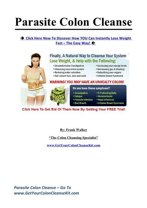 Parasite Detox Weight Loss by Parasite Colon Cleanse Secrets