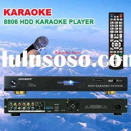 Hardisk Karaoke 3 in 1 drive karaoke machine support vob dat avi mpg cdg mp3 g songs dvd rom kod system