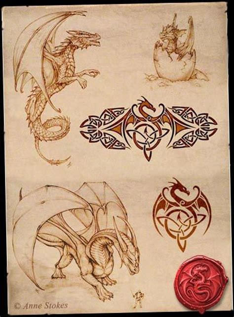 anne stokes tattoo designs stokes gallery www annestokes dragons