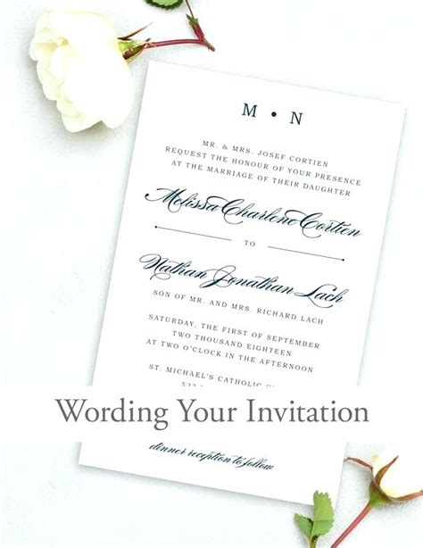 what wedding invitations should say what should a wedding invitation say also how are wedding
