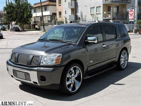 armada nissan 2005 armslist for sale 2005 nissan armada 1 owner