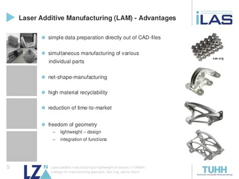 design for additive manufacturing of cellular structures laser additive manufacturing of lightweight structures in