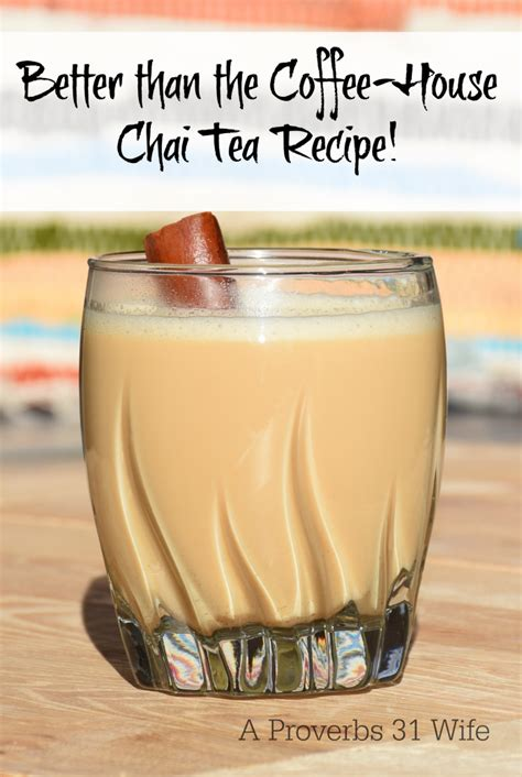 Better Than The Coffee House Chai Tea Recipe
