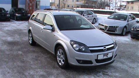 2005 Opel Astra H Caravan Pictures Information And