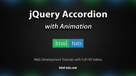 tutorial jquery animate jquery accordion with animations html tuts com