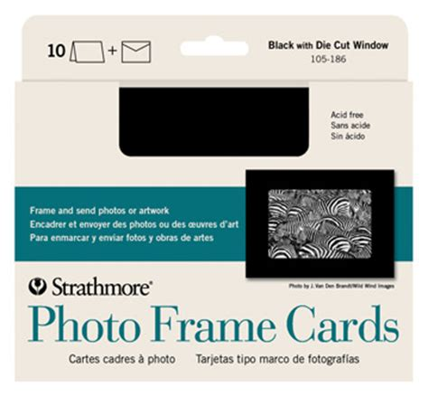 strathmore cards templates photo frame cards strathmore artist papers