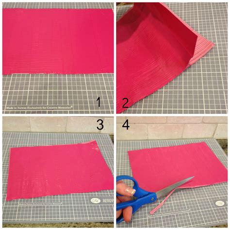 printable instructions how to make a duct tape wallet duct tape wallet tutorial