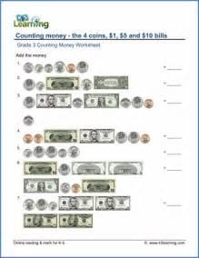 grade 3 counting money worksheets free amp printable k5