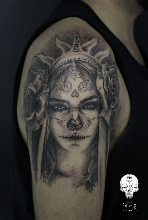 cara tattoo catrina done last week cara delevingne as