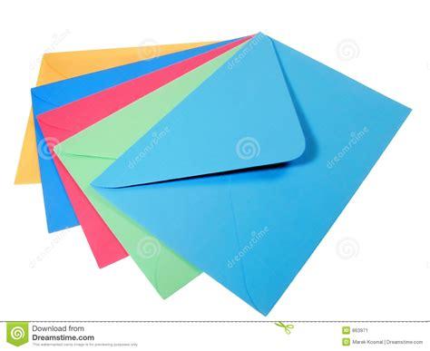 colorful envelopes colourful envelopes stock image image 863971