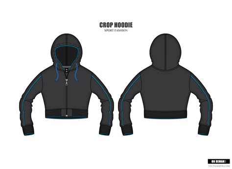Collection of Hoodie Design Vector Template Free By Modern2143 On ...