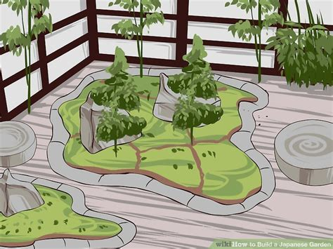 House Plans With Courtyards how to build a japanese garden with pictures wikihow