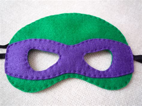 pattern for ninja turtle mask felt ninja turtle mask by littlestfeltshop on etsy 24 00