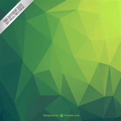 green wallpaper vector free download green abstract polygonal background vector free download