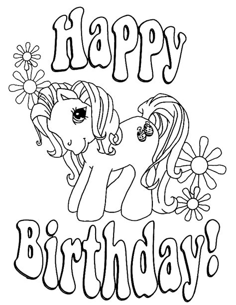 happy coloring pages happy birthday coloring pages 360coloringpages