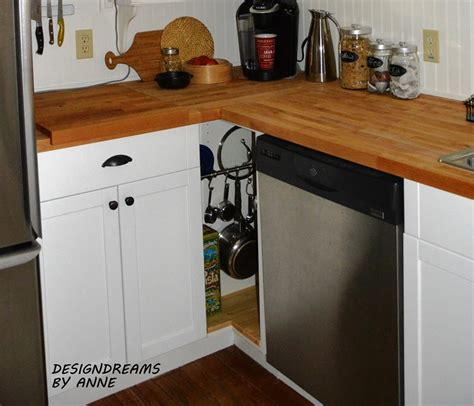 hometalk diy custom kitchen cabinet for a tiny corner