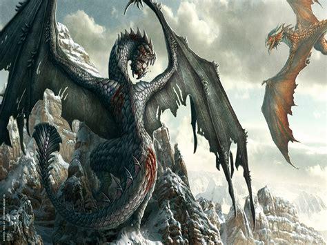 Dragons fantasy wallpaper 19077590 fanpop