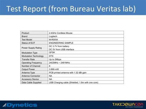 bureau veritas testing osint rf engineering by marc newlin