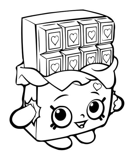 Shopkins Coloring Page Pdf | shopkins coloring pages 19 coloring pages for kids